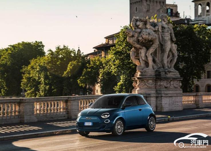 2021年上市 传菲亚特500 EV将推三门版