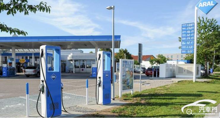 政府掏钱 德国加油站加速新能源转型