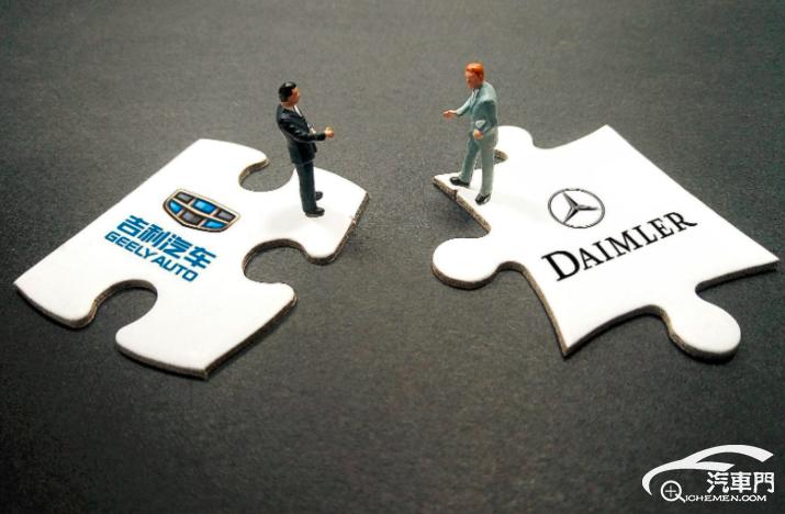 戴姆勒、吉利拟就高效混合动力系统展开合作
