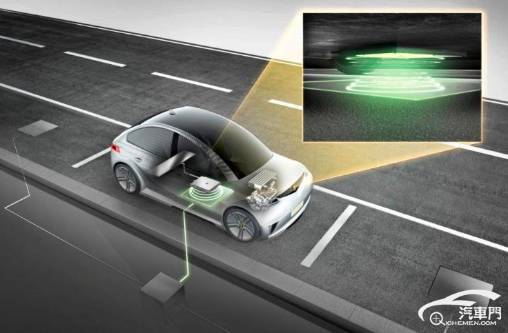 可跟踪 松下发布全新车载无线充电技术